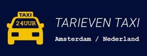 Taxi tarieven Amsterdam Nederland